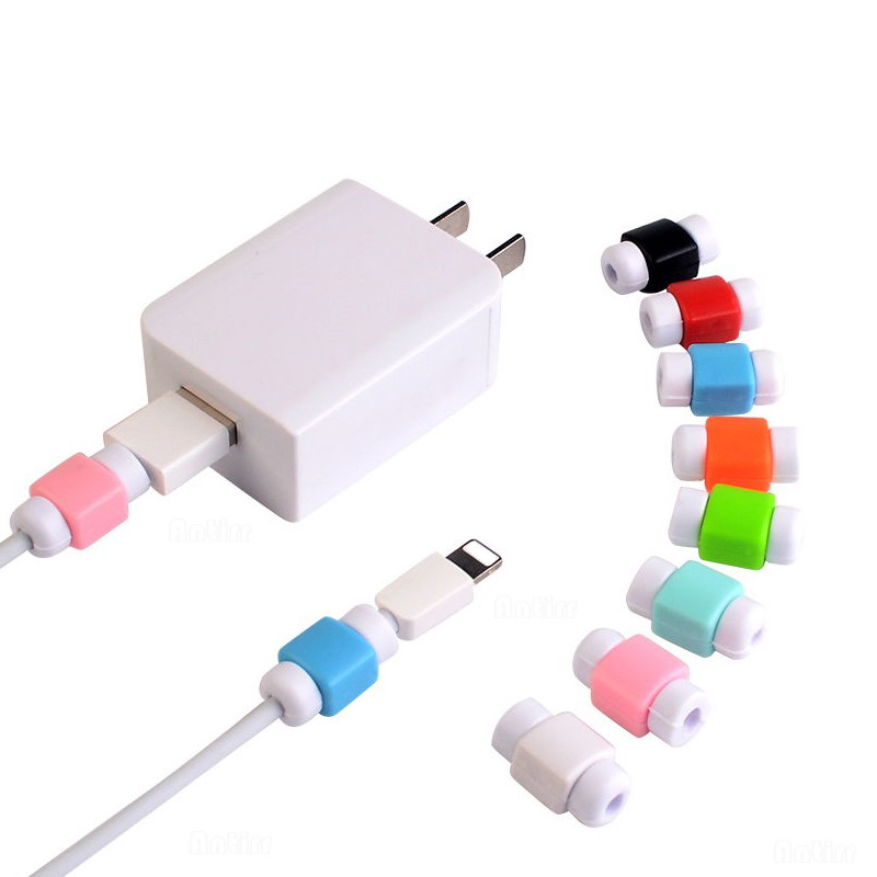 Mini USB Cable Protector Cord Protection Wire Cover For Phone Tablet Data Charger Earphone Line Protected Cover