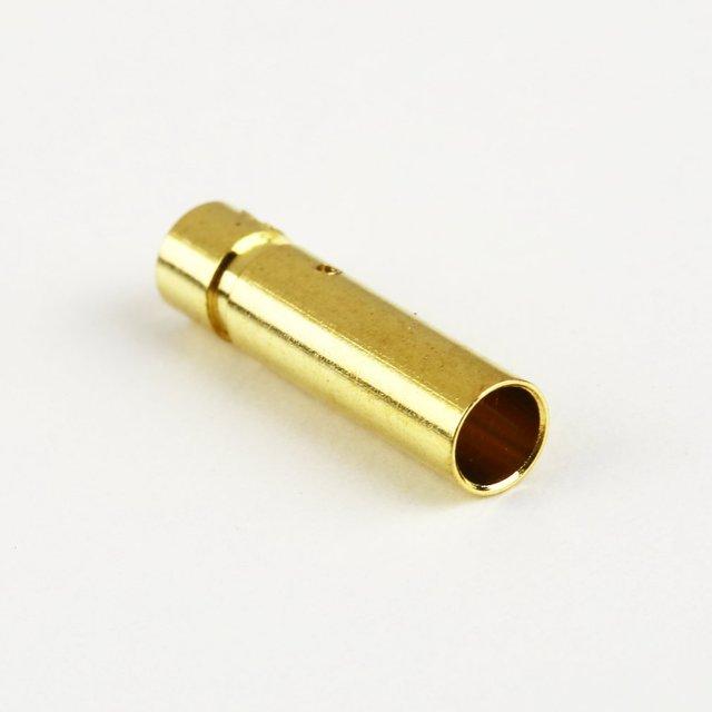20 pcs NEW 3.0 Female Gold Bullet Banana Plug Connectors RC Battery Electronic Hook 2