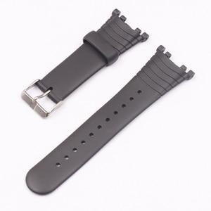 Image 4 - Watch Accessories Rubber Strap For SUUNTO Vector VECTOR Pin Buckle Mens Watch Strap
