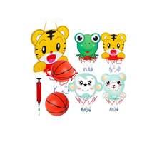 Ensemble de basket-ball avec cadre suspendu, jouet de sport pour enfants, Simple et Portable, avec Patte de grenouille