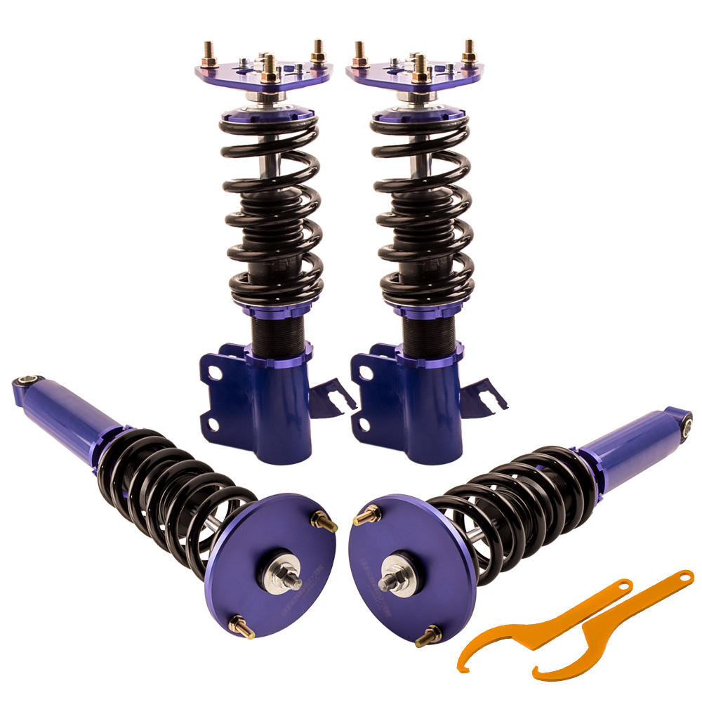 New Coilovers Kits For Nissan S14 240SX 94-98 Coil Struts Adj Height Spring