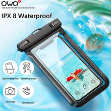 Floating Airbag Waterproof Swim Bag Phone Case For iphone 11 Pro Max Samsung Xiaomi mi Note 9 Pro Redmi Huawei P30 20 Lite Cover