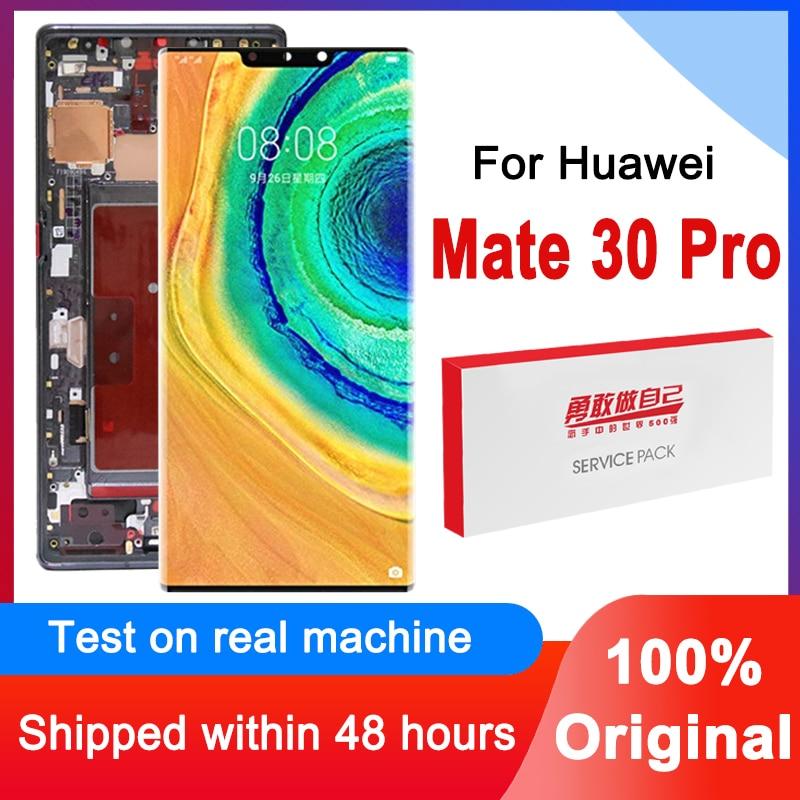 Оригинальный 6,53 ''ЖК дисплей экран Замена для Huawei мат 30 Pro ЖК-дисплей с сенсорным экраном дигитайзер в сборе для LIO-L09 / L29 LIO-AL00 / TL00
