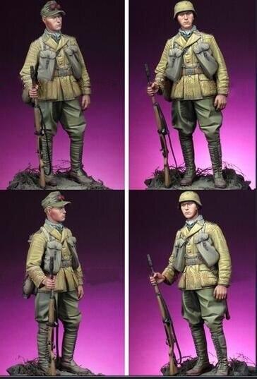 Resin Kits  1/16  Scale  1/16  Deutsche Afrika Grenadier   Resin Model DIY TOYS