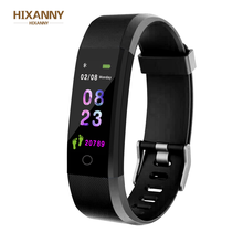 Smart Wristband fitness tracker Watch Health Heart rate band Blood Pressure Waterproof Smart Bracelet for Men Women Smartband