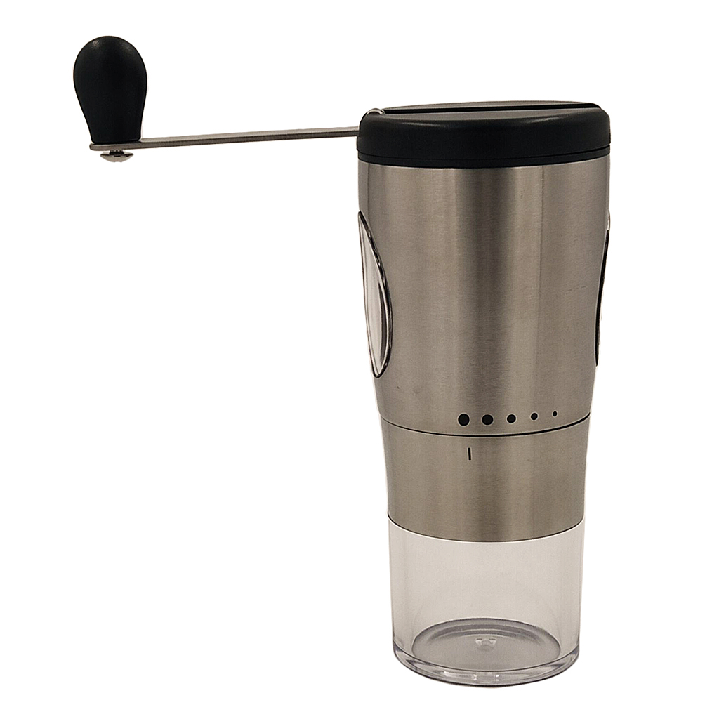Manual Coffee Grinder Portable Stainless Steel Hand Crank Coffee Bean Mill