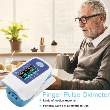 Portable finger pulse oximeter blo