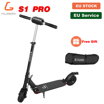 [Europe Stock] KUGOO S1 PRO Folding Electric Adult Scooter 350W 30KM/H LCD Display Kick Scooter Electric Better than XIAOMI M365