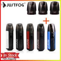 Justfog minifit Starter Kit 370mAh vape mini starter kit & Newest Minifit Ceramic Pod 1.5ml capacity Pod E cigarette vape kit