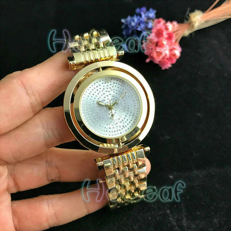 Fashion Silver Gold Dial Stainless Women Watch Quartz Wrist Watches Ladies Girls Famous Brand Female Clock Montre Femme relogio