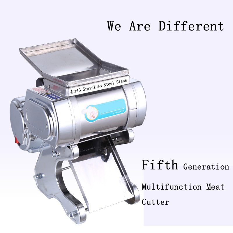 BL-70 5.0mm /7.0mm Blade Fully Automatic Electric Commercial Stainless Steel Slicer Shredded Vegetable Cutter Minced Meat Slicer