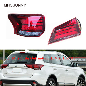 Inner/Outer Tail Light for Mitsubishi Outlander PHEV 2016-2018 Tail Lamp LED 8330B003 8331A186 Back Lamp Tail Light Assembly