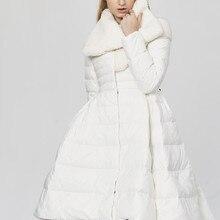 Quality Parka Warm High Winter Coat Women's White Duck Jacke