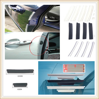 Car Side Door Edge Protector Protective Strip Scrape Bumper Guards for BMW all series 1 2 3 4 5 6 7 X E F-series E46 E90 F09 image