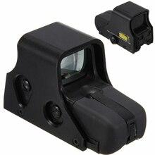 Glock 551 punto rojo 1/3 telescópica/Verde colimador reflexión parece Airsoft holográfica luchador por aire caza Reddot