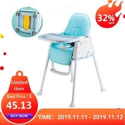 Kidlove Multifunktions Einstellbar Baby Kinder Sicherheit Esszimmer Hochstuhl Booster mit Sitz Räder Warm Kissen Neue Hohe Qualität