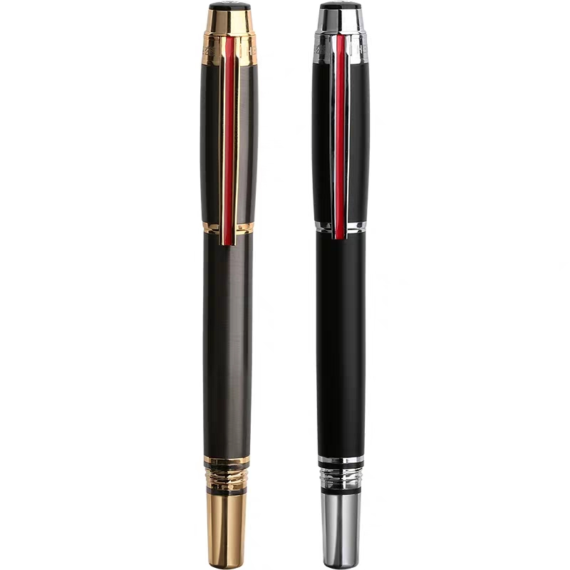 Hero 200E Fountain Pen Collection Ink Pen 14K Gold Fine Nib Box Package Office School Supplie