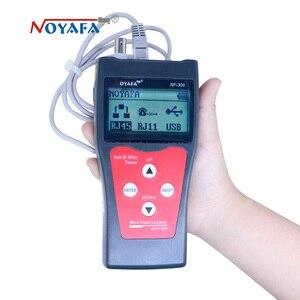 Image 2 - Testeur de câbles NF_300 l Lan RJ45, LCD, moniteur de réseau, sans interférence du bruit, NOFAYA NF 300