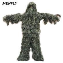 Камуфляжный костюм menfly из травы охотничий секретный сафари