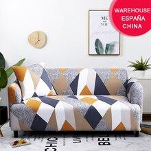 Coolazy Stretch Plaid canapé housse housse de canapé élastique pour salon funda canapé chaise canapé couverture décor à la maison 1/2/3/4 places