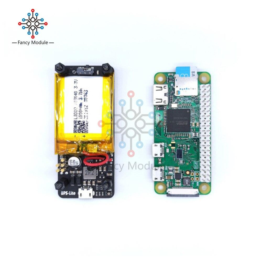 Neue UPS Lite V 1,2 UPS Power HUT Bord Mit Batterie Strom Erkennung Für Raspberry Pi Null Null W Heißer verkauf