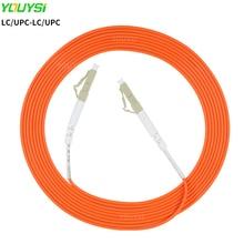 YOUYSI LC/UPC-LC/UPC Fiber Patch Cable LC-LC Multimode Fiber Jumper MM Simplex OM1/OM2 1m 2m 3m 5m 10m