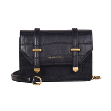 Female Small Bag 2019 New Wave Korean Version of The Ocean Chain Small Square Bag Summer Stone Pattern Diagonal Shoulder Bag все цены