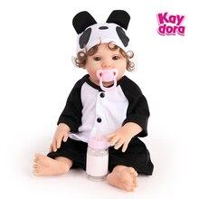 42cm Mädchen Typ volle Vinyl Puppe Neugeborenen Baby Puppe mit Schnuller Kinder Geburtstag Geschenke Rebron Babe kinder Spielzeug spielkameraden Sammlung