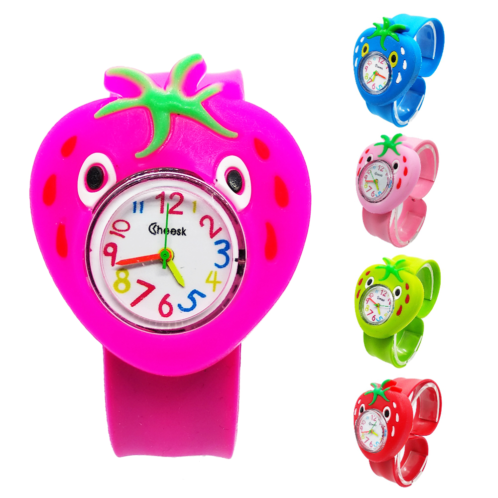 Fruit Strawberry Pineapple Children's Watches Kids Students Time Clock Wristwatch Baby Child Quartz Watches Girls Boys Xmas Gift