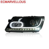 Cob Lamp Accessory Daytime Running Automobiles Exterior Drl Led Auto Headlights Car Lights Assembly 17 18 FOR Dodge Journey