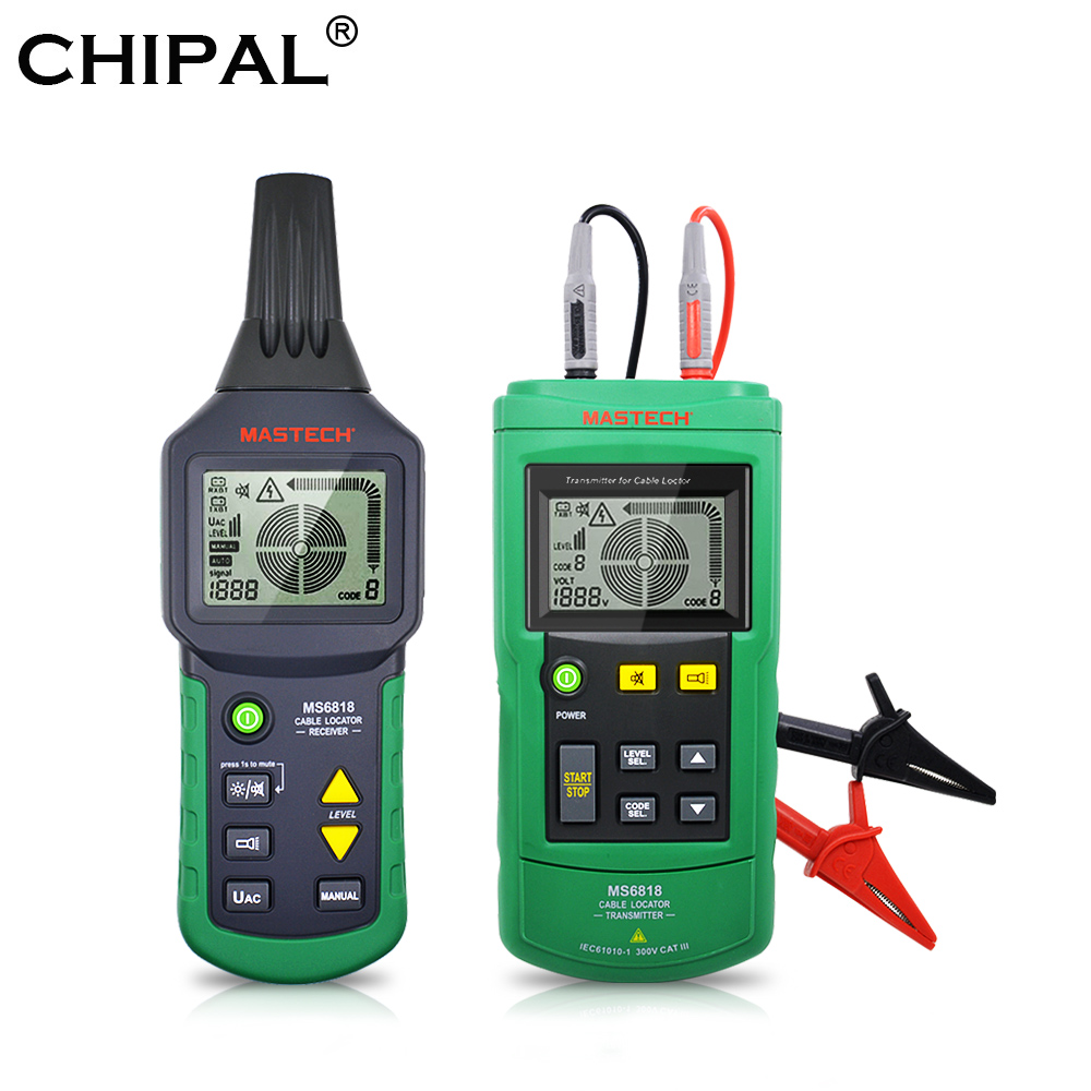 Detector Network-Cable-Tester Telephone-Wire-Tracker Mastech Ms6818 Cat6 Cat5e RJ11 LAN title=