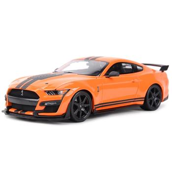 Maisto 1:18 2020 Mustang Shelby GT500 Ford Sports Car Static Die Cast Vehicles Collectible Model Car Toys image