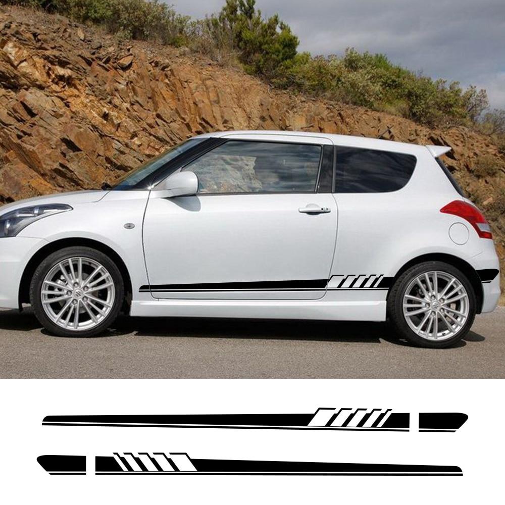 Sticker side stripe Kit for Suzuki swift s 2015 2016 2017 2018 sport lip mirror