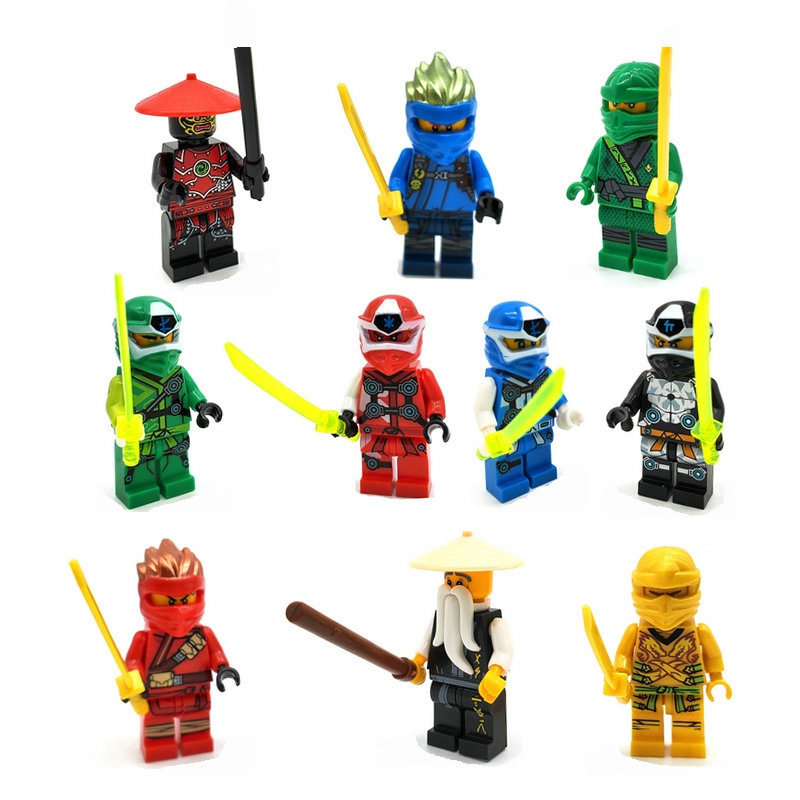 HOT NINJA Gamer's Cyber Armor Kai Lloyd Master Building Block Action Figures Compatible NinjagoINGlys Bricks Set For Gift Toys