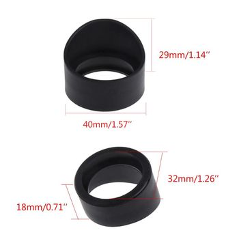 2 szt Średnica 34mm gumowe osłony okularowe do teleskopu mikroskop stereo tanie i dobre opinie OOTDTY CN (pochodzenie) NONE 103B1AA800201 Inne