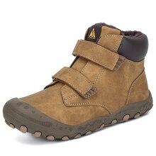 Meninos botas de inverno crianças sapatos ao ar livre tênis meninas botas sapatos planos botas de neve crianças tornozelo botas de plataforma tenis infantil