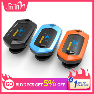 Image 1 - Rechargeable Finger Pulse Oximeter Oximetro De Dedo blood oxygen Heart Rate Monitor Spo2 Sports Pulsioximetro