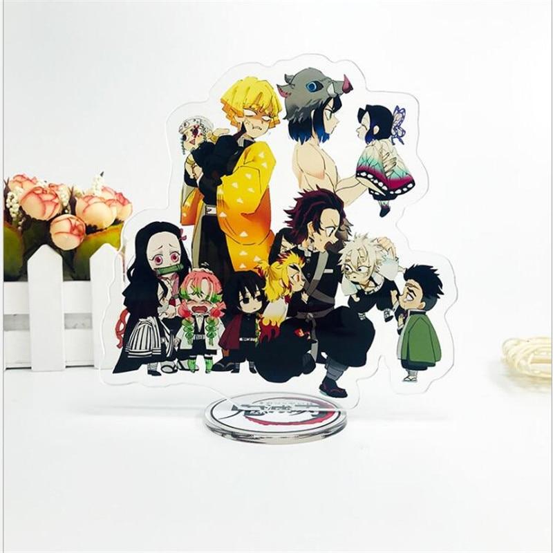 Acrylic ornaments Kamado Tanjirou Japanese Cosplay Props ornaments