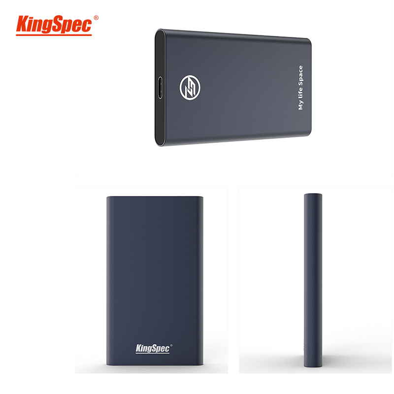 KingSpec Portable ssd 240gb SSD Solid Disk Drive External 120gb ssd hdd USB 3.1 to Type-c Solid State Disk USB 3.0 for laptop pc image
