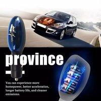 Ahorrador de combustible portátil para coche de alta calidad, ahorro de Gas, ahorro de Gas, funciones de Gas para vehículos, negro y compacto