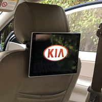 KIA Picanto Venga Soul Forte Cerato Cee 'd 안드로이드 7.1 엔터테인먼트 시스템 용 최신 자동차 뒷좌석 DVD 플레이어 헤드 레스트 모니터