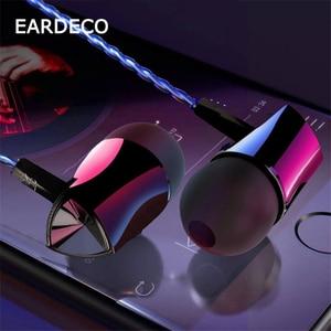 Image 3 - Проводные наушники вкладыши EARDECO 3,5 мм, спортивные стереонаушники с супер басами, гарнитура с микрофоном, динамический наушник для iPhone