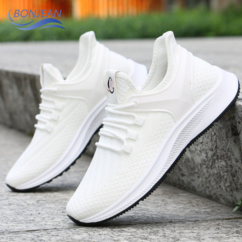 2020 new summer sports shoes mens Korean version of the trend wild breathable casual running