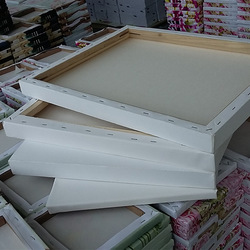 Manufacturers Genuine Product Wholesale Thick Widened Seiko Pure Cotton Cloth Oil Painting Frame 30*40 Every Specification Oil P