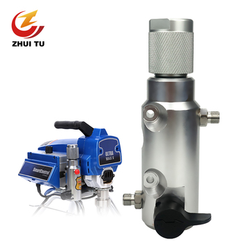 1PC Airless Sprayer Filter Return Valve Spray Gun Paint Filter Pump Paint Spraying Machine Accessories For Titan/Wagner 395/490 3600psi high pressure airless paint spray gun with nozzl nozzle guard pump sprayer and airless spraying machine for wagner titan