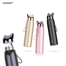 320ML Stainless Steel Double Wall Thermos Vacuum Insulated Flasks Coffee Drinkware Sport Bottle For Water Bottles Cartoon Cup