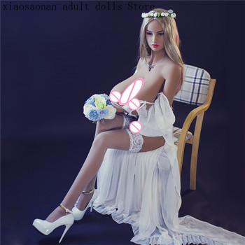 160cm Sex Dolls Big Boobs tpe Silicone Love Doll with Huge Breast and Standing for Men Masturbation Toys