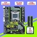 HUANAN V2.49 X79 материнская плата CPU RAM combos Xeon E5 1620 SROLC CPU (2*4G) 8G DDR3 RECC memorry все хорошо Протестировано 2 года гарантии