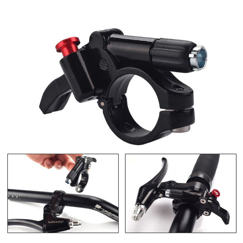 MTB Lockout Wire Control Lever Mountain Bike Speed Fork Controller Change Switch Button Report Aluminum Alloy