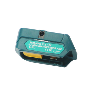 Image 4 - li ion battery charger USB adpator with work light Multifunction DC10WD for Makita BL1015 BL1040B BL1015 BL1016 BL1021B BL1040B